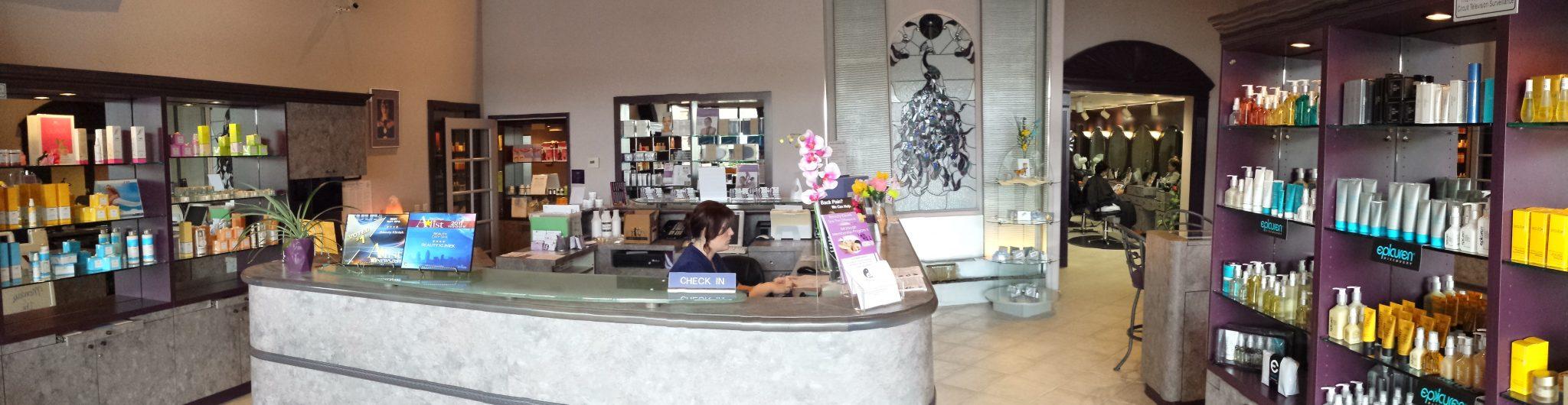 Beauty Kliniek Aromatherapy Day Spa Front Desk